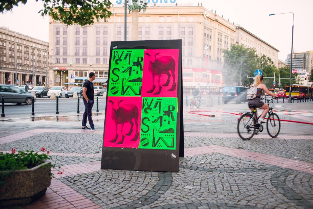 Plakatatak w Warszawie. Polscy i niemieccy projektanci plakatów w słusznej sprawie