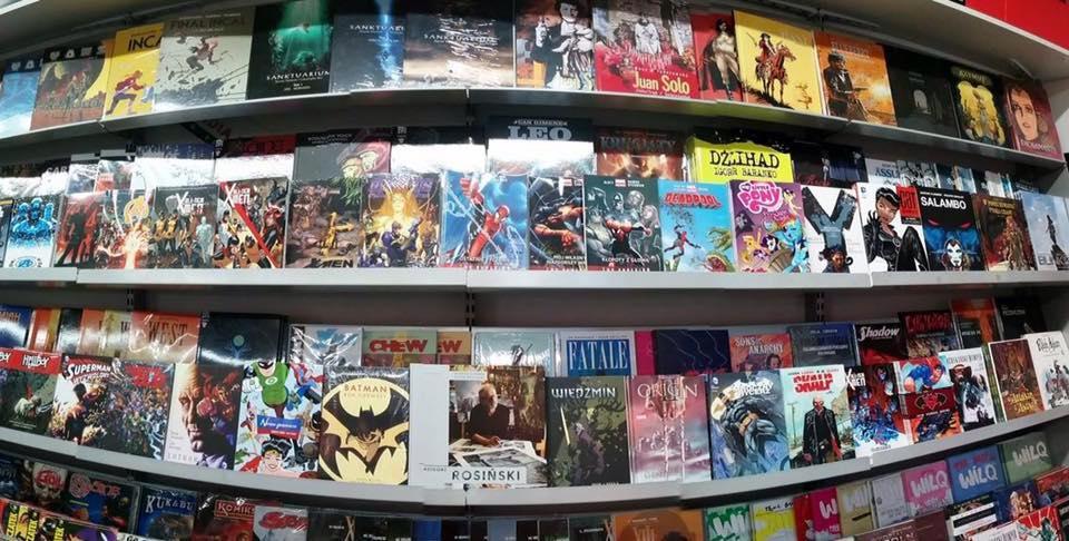 Sklepy z komiksami Komikslandia