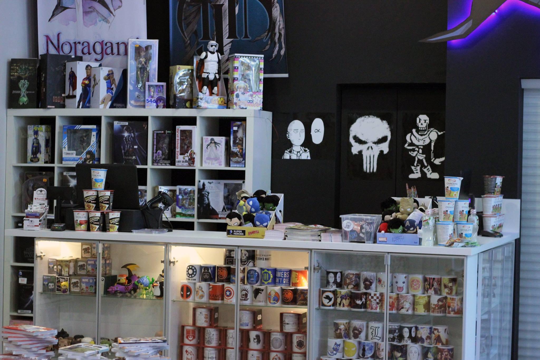Sklepy z komiksami Centrum Popkultury