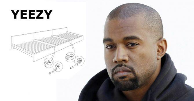 Kanye marzy o collabie z IKEA. Na razie będzie płyta z Drakiem