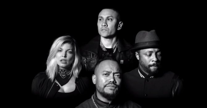 "Pełna gwiazd nowa wersja ""Where Is The Love"" Black Eyed Peas"