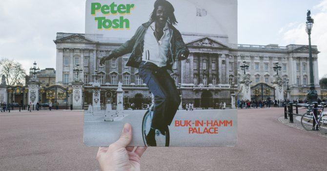 Londyn na okładkach winylowych płyt z reggae