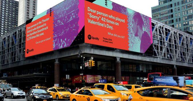 Spotify zdradza wasze wstydliwe sekrety na billboardach