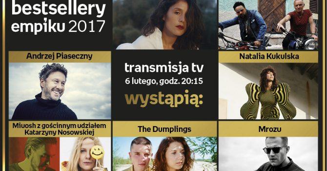 Sting i Jessie Ware na jednej scenie z polskimi artystami. Gala Bestsellery Empiku 2017 coraz bliżej!
