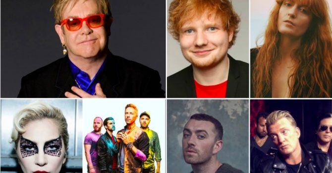 Lady Gaga, Ed Sheeran, Sam Smith, Coldplay i Q-Tip na jednej płycie! Wszystko za sprawą Eltona Johna…