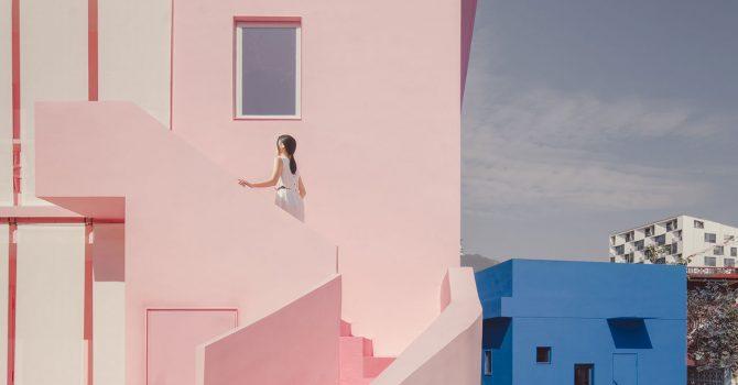 Chińczycy postawili dom w kolorze MILLENNIAL PINK!