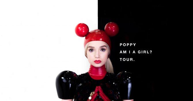 Nazywają ją Andym Warholem YouTube'a. Zjawiskowa Poppy zrobi show w Warszawie!