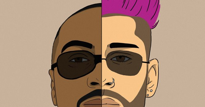 Zayn Malik ma różowe włosy! Mamy klip zapowiadający jego drugą płytę.