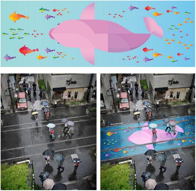 Sezon monsunowy w Seulu nabiera kolorów. Przełom w street-arcie!