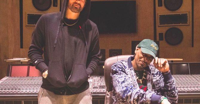 Eminem i Snoop Dogg we wspólnym kawałku? Raperzy spotkali się w studiu!