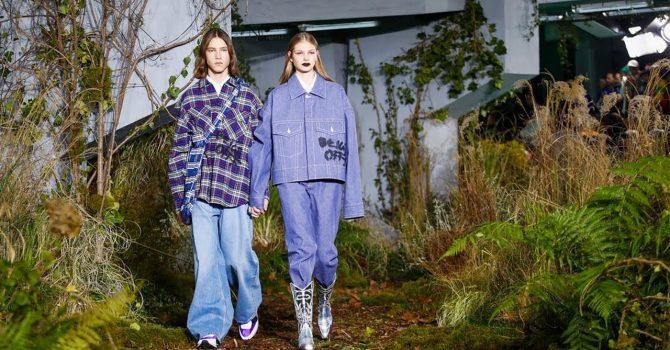 Streetwearowa marka zaszalała na pokazie mody w Paryżu!