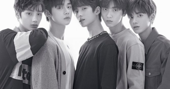 K-popowy zespół TXT z rekordową sprzedażą albumu w preorderze!