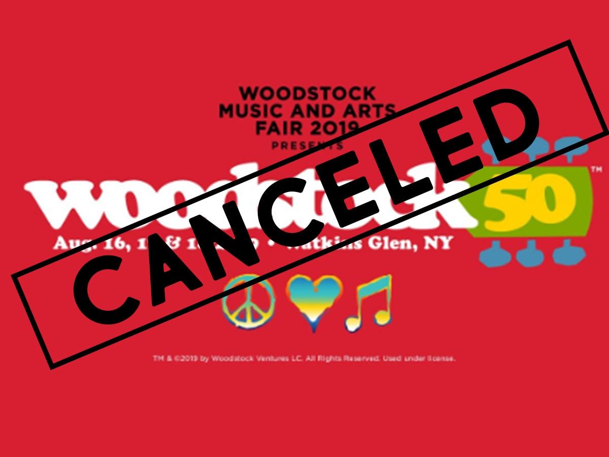 Woodstock 50 odwołany