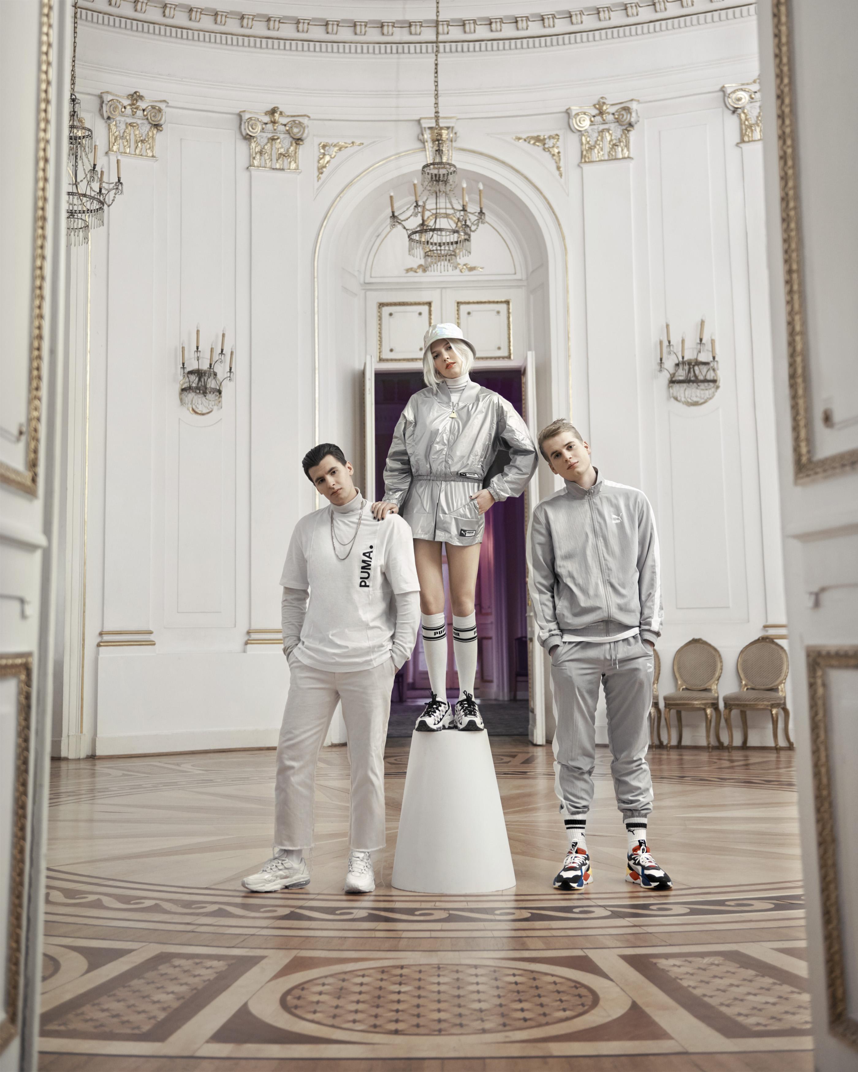 Zaiwałow, Jan-Rapowanie, White 2115 PUMA Talents