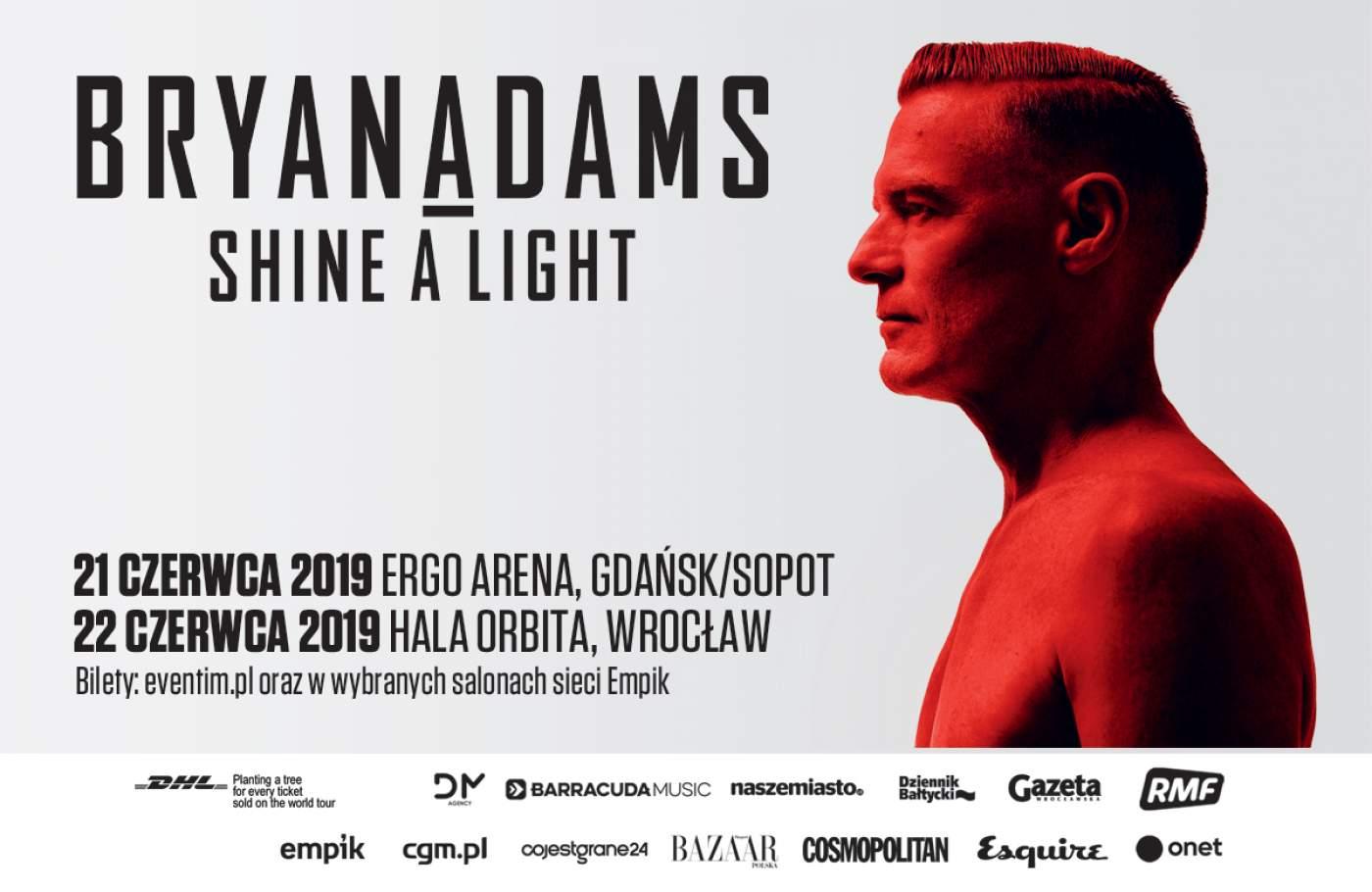 Bryan Adams w Polsce
