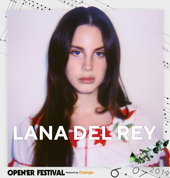 Lana Del Rey headlinerka Opener 2019
