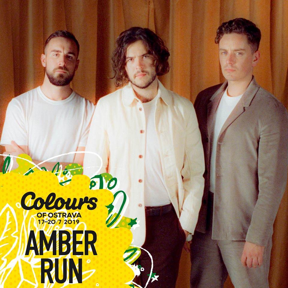 Amber Run na Colours of Ostrava