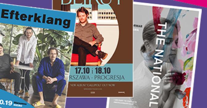 Jesienne koncerty zagranicznych artystów – sprawdź, kogo warto zobaczyć