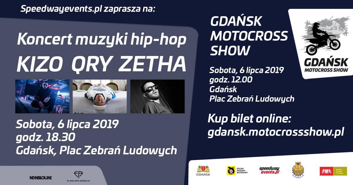 Koncert Hip-Hop: Kizo, Qry, ZetHa Gdańsk