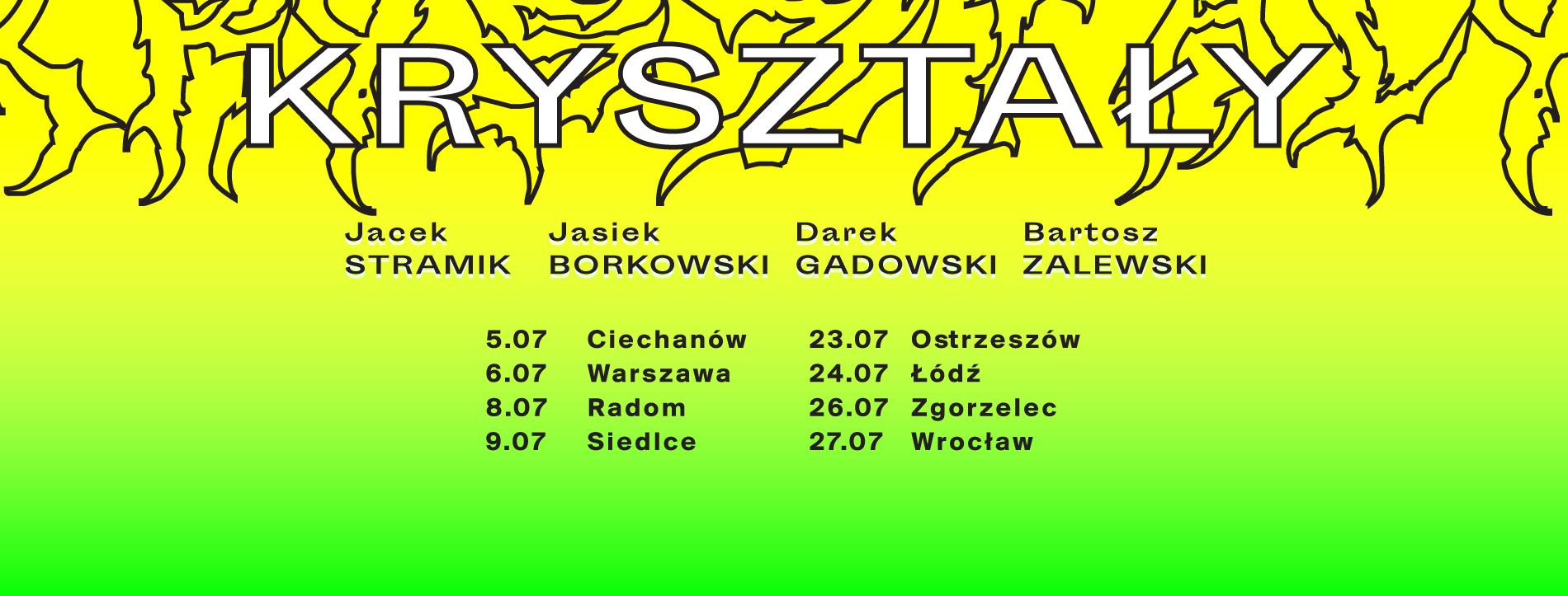 Stand-up Wrocław - Kryształy: Borkowski / Stramik / Zalewski / Mazur