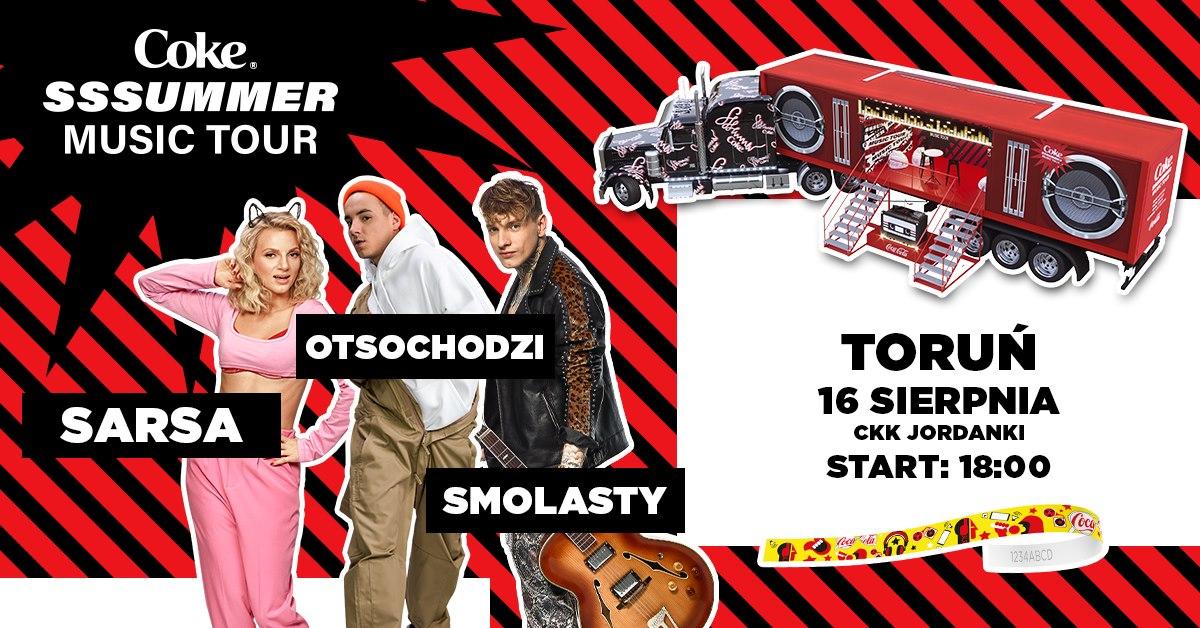 Coke Sssummer Music Tour - Toruń