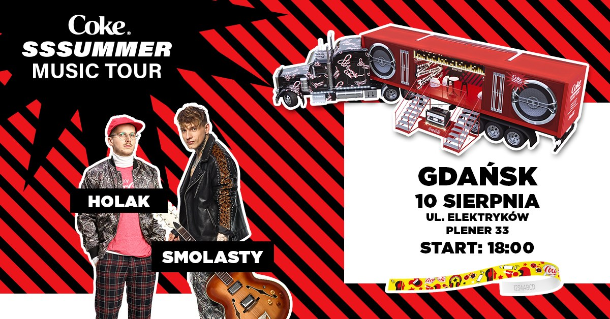 Coke Sssummer Music Tour - Gdańsk