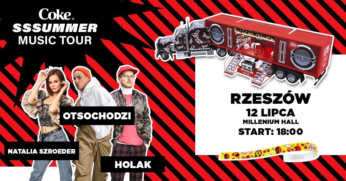 Coke Sssummer Music Tour - Rzeszów