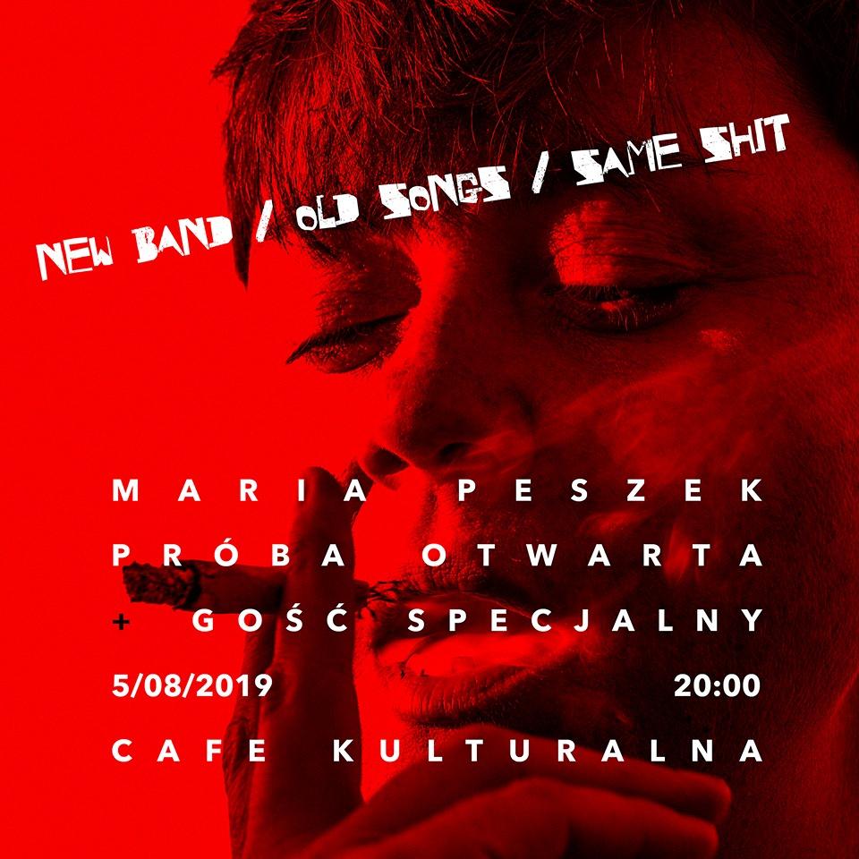 Maria Peszek koncert w Warszawie