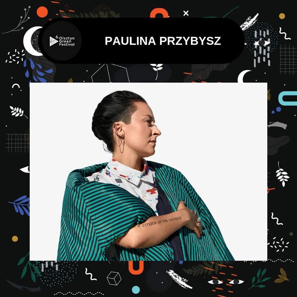 Paulina Przybysz na Olsztyn Green Festival 2019