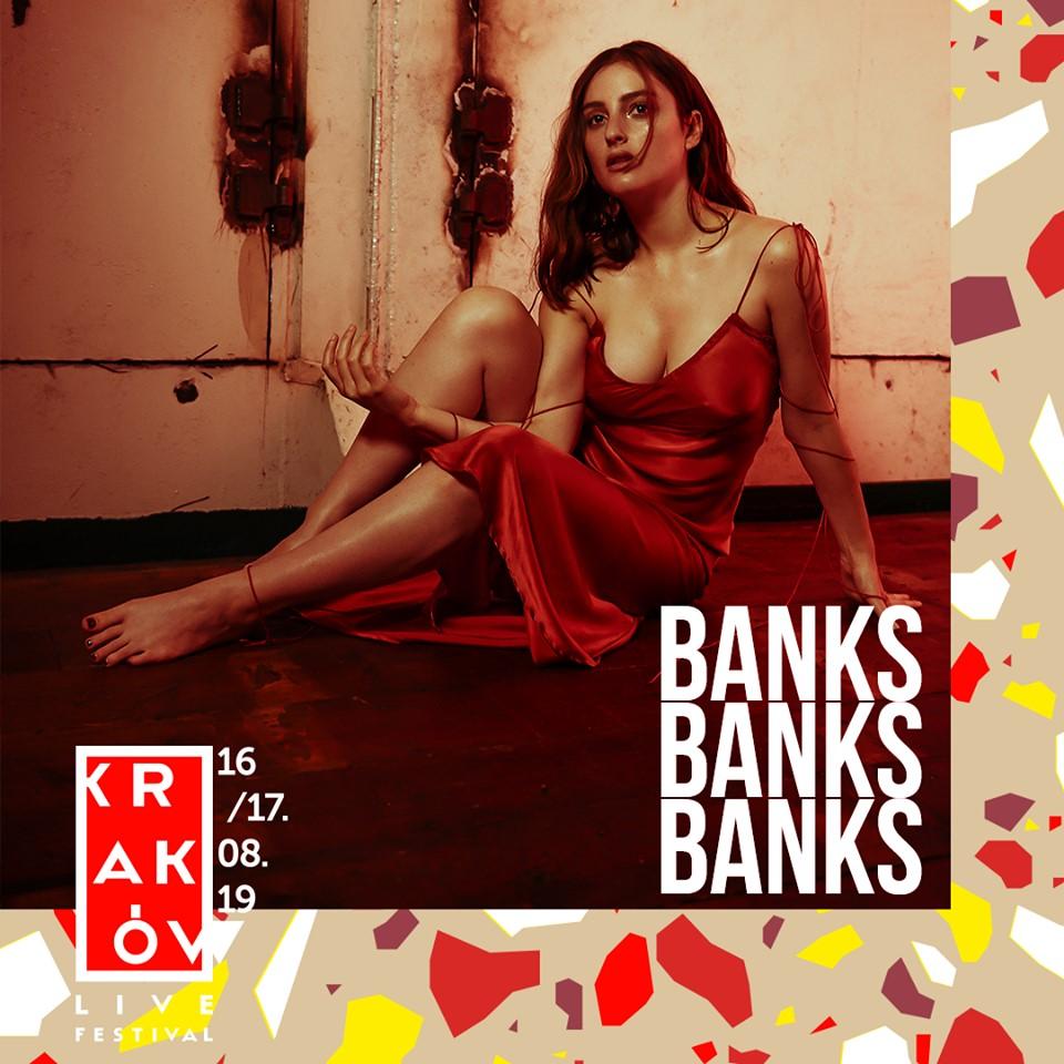 BANKS na Kraków Live Music Festival