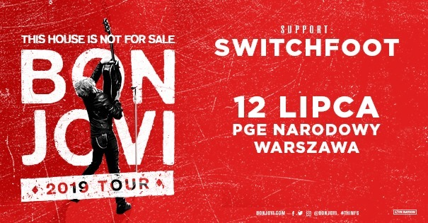 BON JOVI This House Is Not For Sale, PGE Narodowy Warszawa
