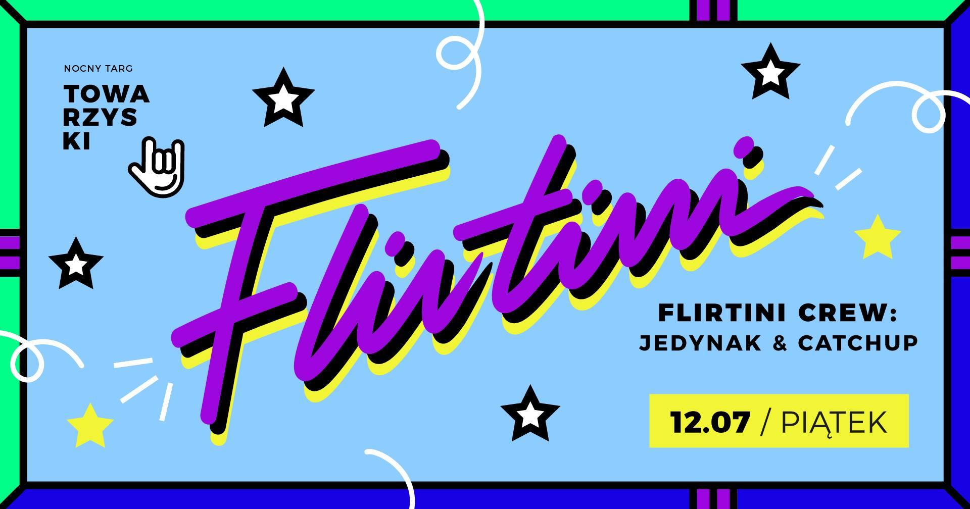 Flirtini puszczają piosenki na Nocnym Targu Towarzyskim Jedynak Catchup