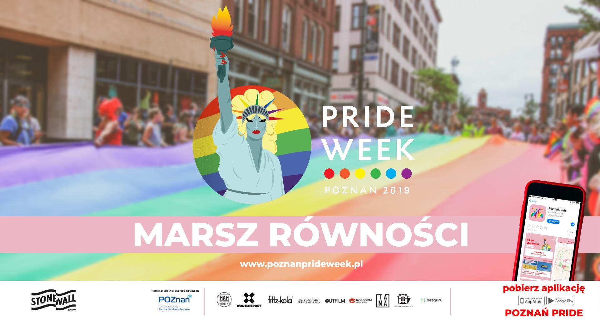 Marsz Równości / Poznań Pride Week 2019