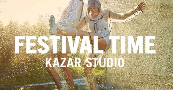 Skompletuj swój niezbędnik festiwalowy z Kazar Studio [konkurs]