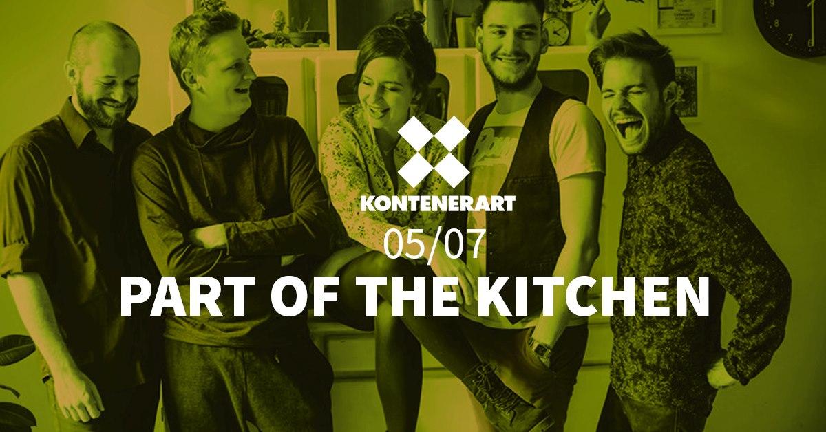 Part Of The Kitchen w KontenerART
