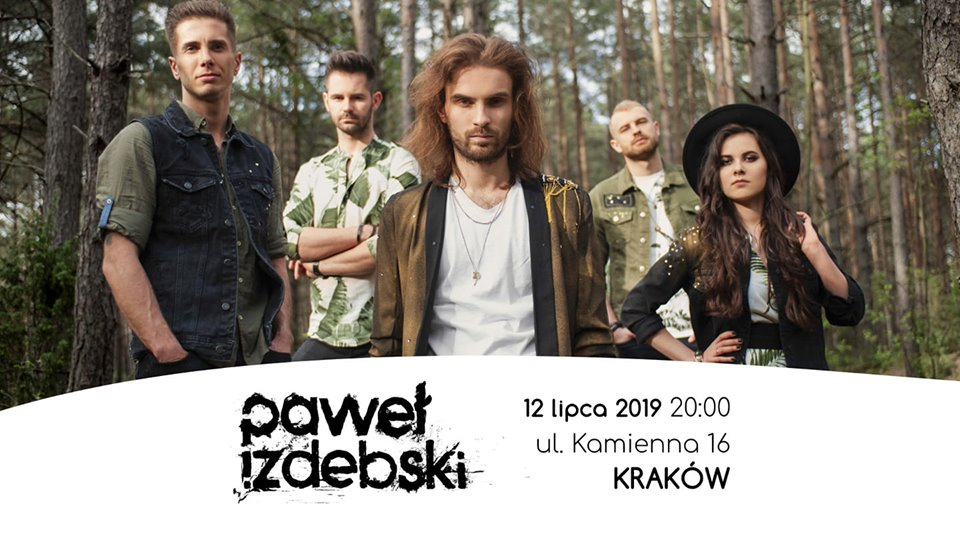 Paweł Izdebski Kraków 12.07 Luneta Nocą