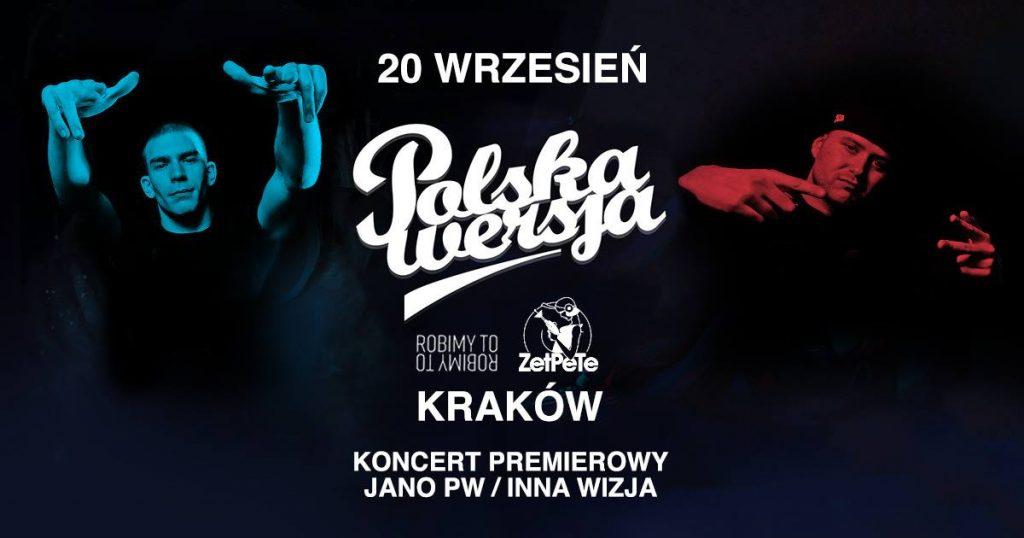 Polska Wersja w Krakowie! Koncert premierowy JANO PW