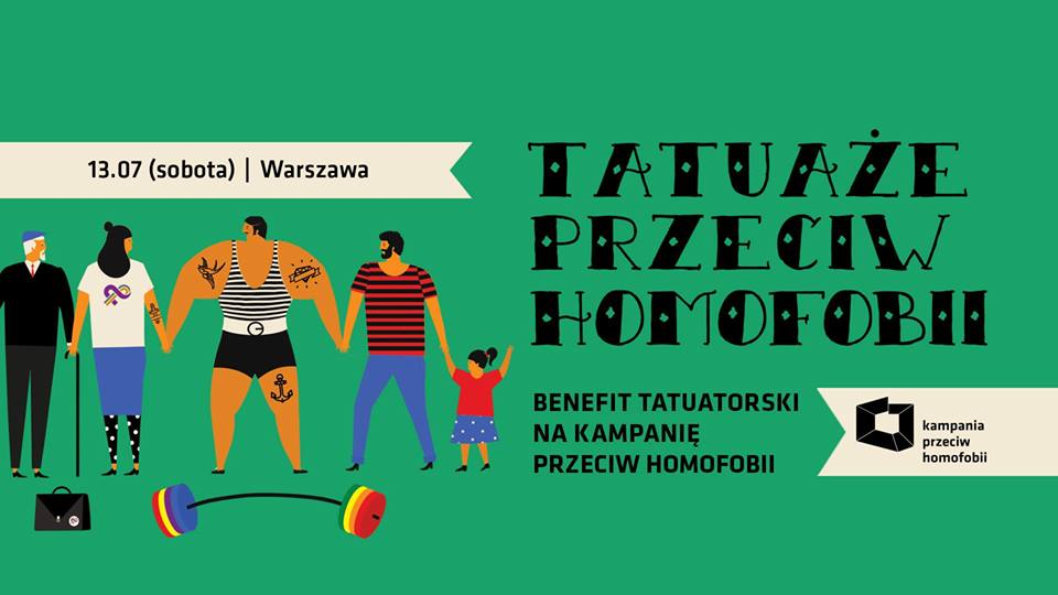 Warszawa Tatuaże Przeciw Homofobii