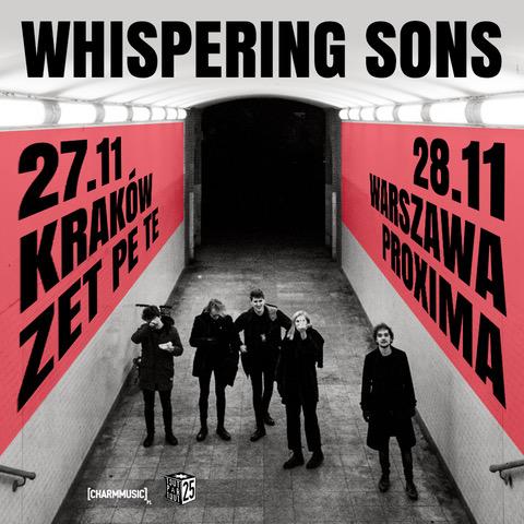 Whispering Sons w Polsce koncerty