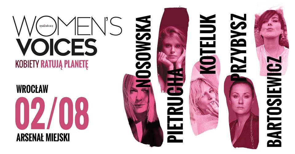 Women's Voices: kobiety ratują planetę
