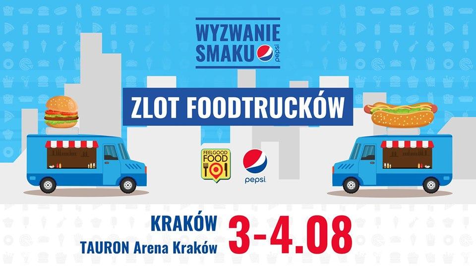 Wyzwanie Smaku Pepsi - Zlot Foodtrucków!