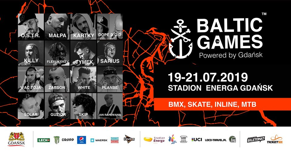 Baltic Games 2019 line-up