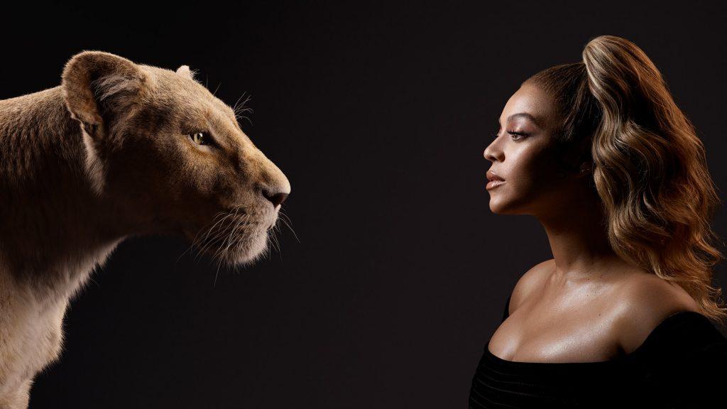 Beyonce jako Nala król lew