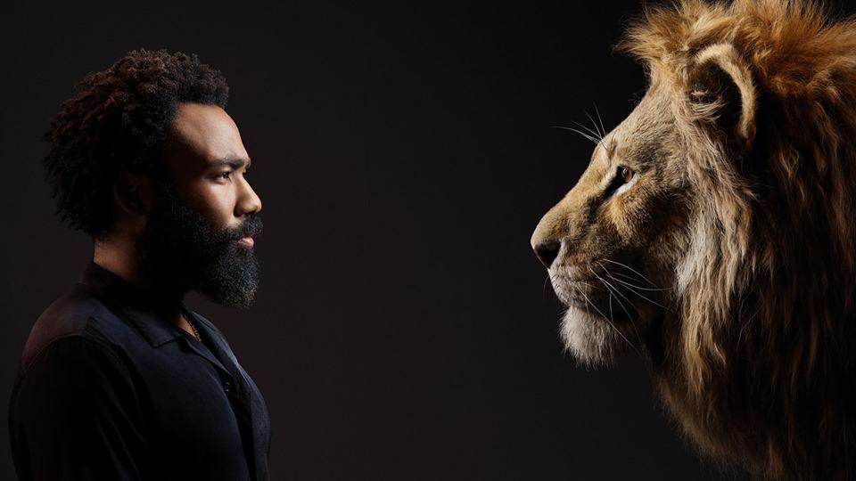 donald glover jako simba król lew