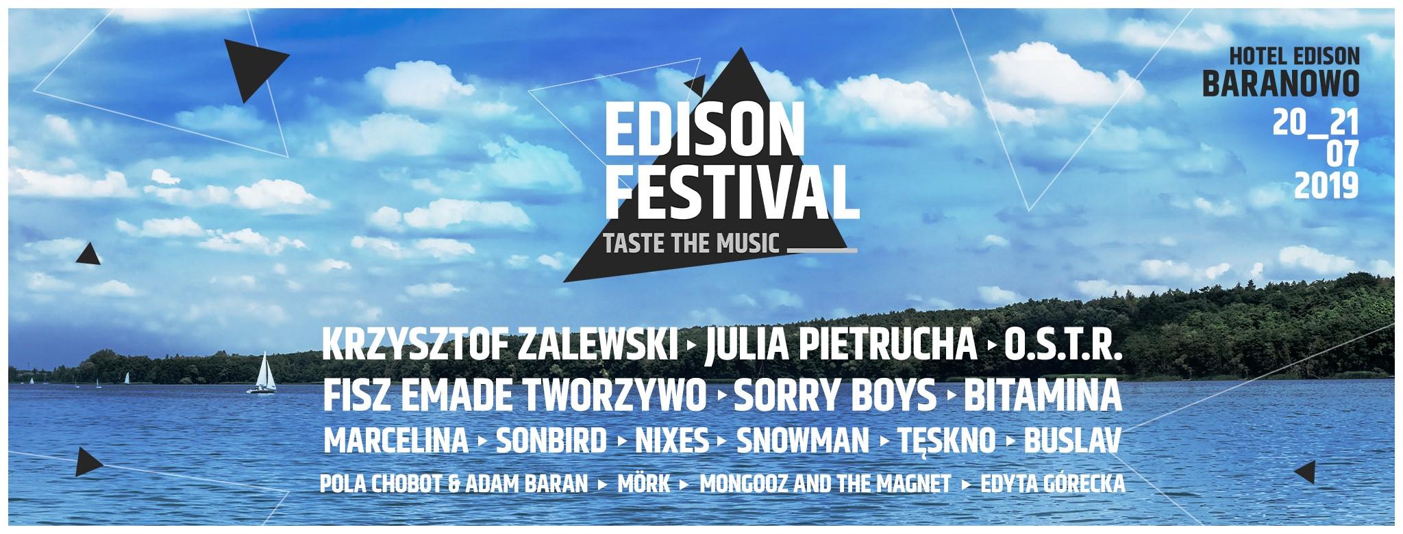 Edison Festival - Taste The Music 2019