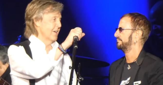 Paul McCartney i Ringo Starr ponownie razem na scenie