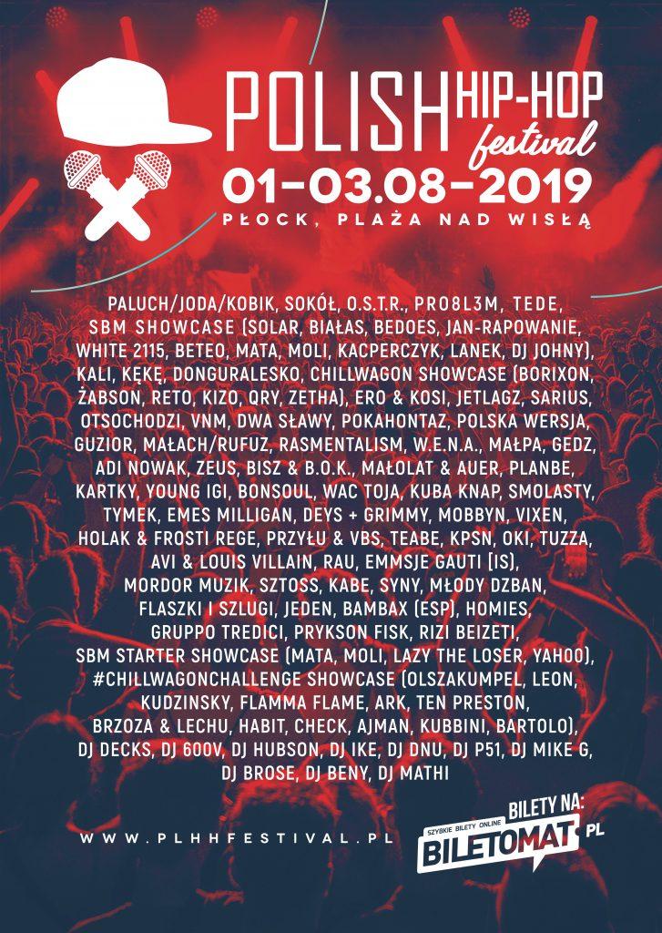 polish hip-hop festival 2019 line-up