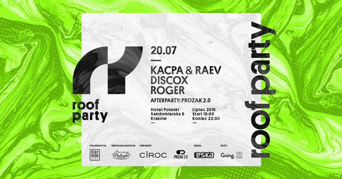 rooftop party w Krakowie