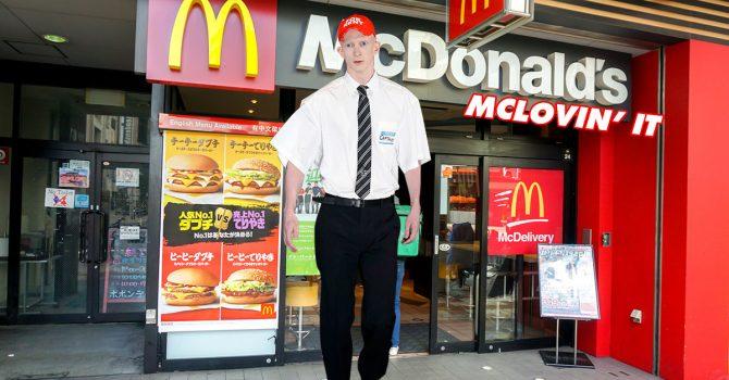 Vetements – pokaz mody w McDonalds