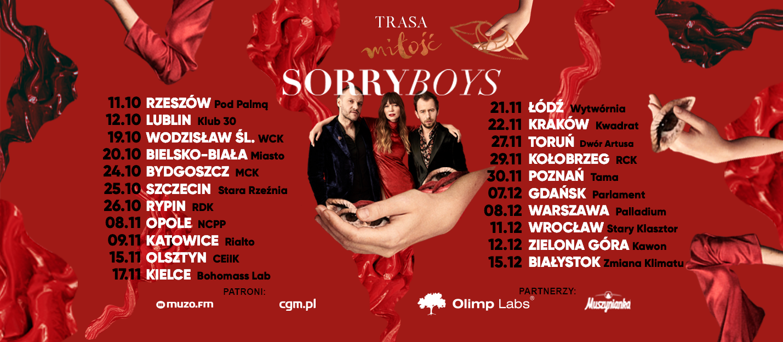 sorry boys koncerty